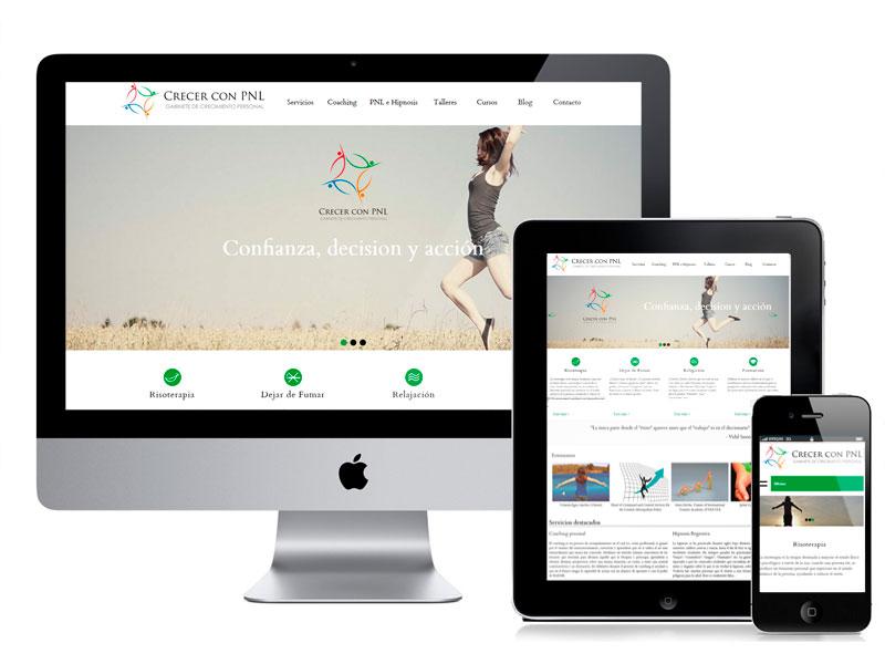 Diseño Web CrecerconPNL