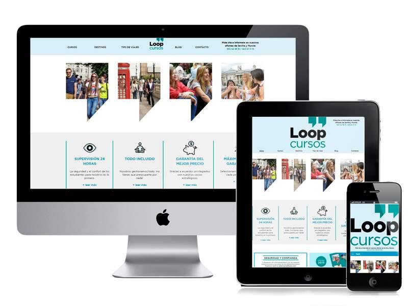Desarrollo web Loop-Cursos