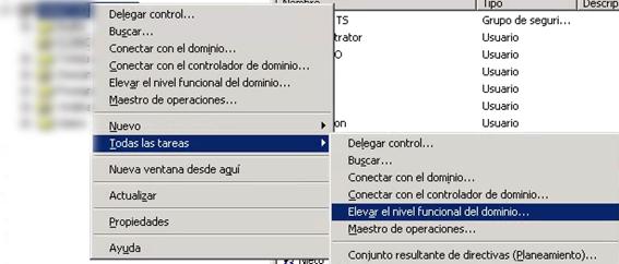 migración windows 2003 2012