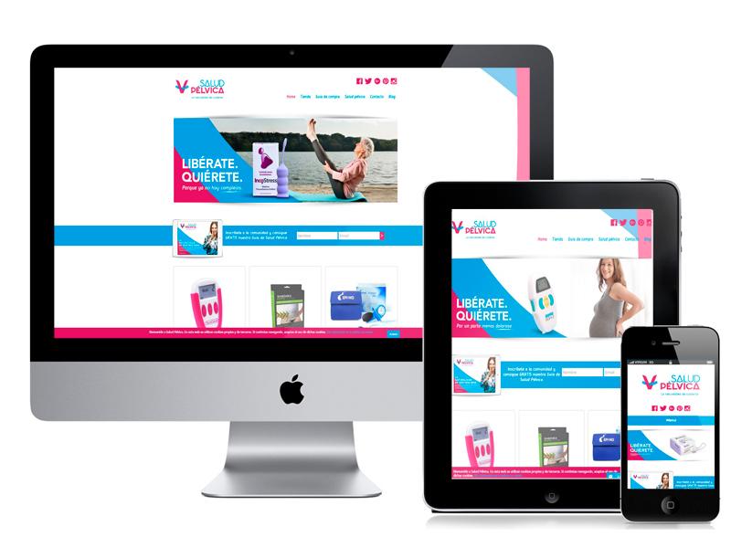 Desarrollo web Salud Pélvica