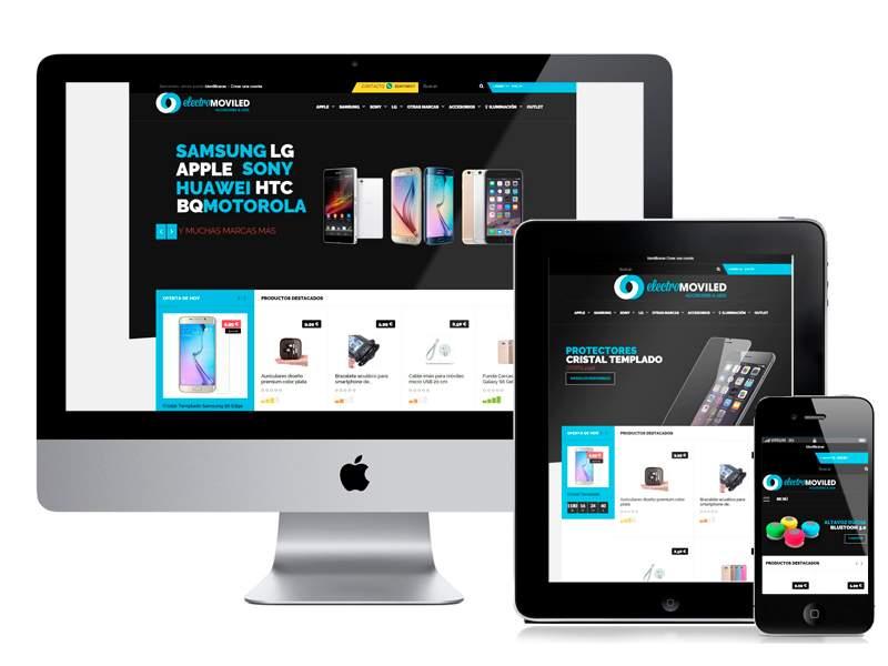 SEO y posicionamiento web tienda online Electromoviled