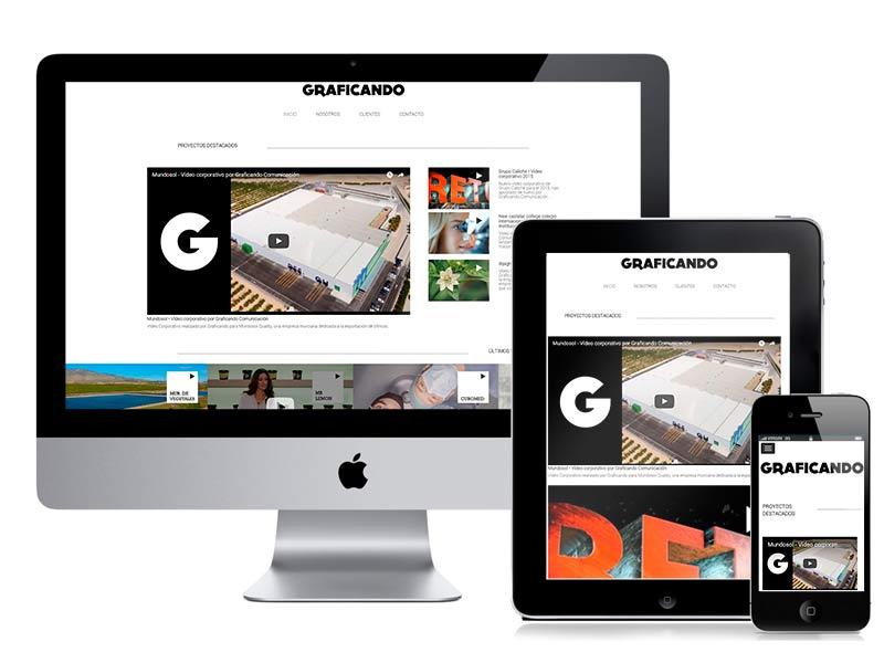 Diseño web Graficando Comunicación