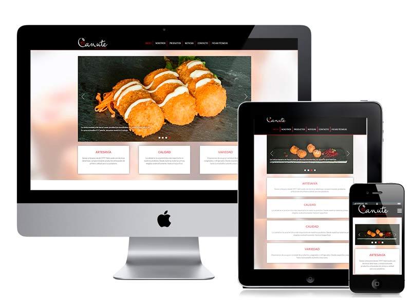 Diseño web y desarrollo El Canute