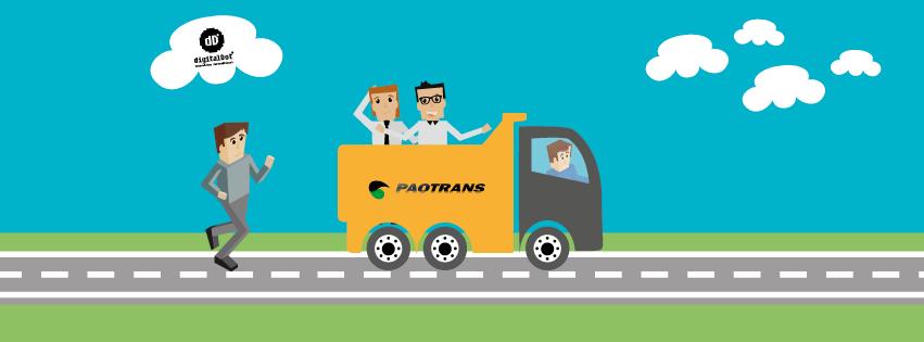 Diseño web y desarrollo Paotrans