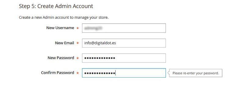 tienda online con magento. digitalDot