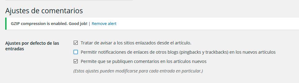 optimización web wordpress