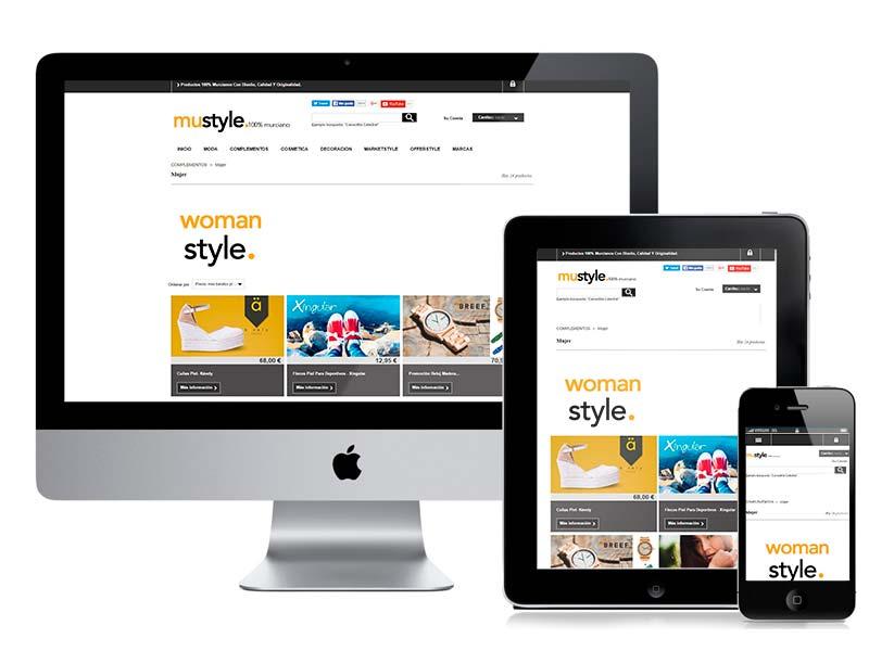 Desarrollo web MuStyle