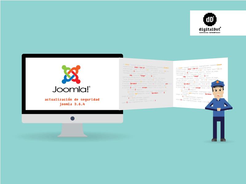 Actualización de seguridad Joomla 3.6.4