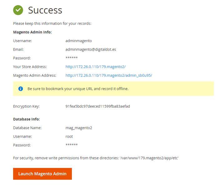 Como instalar Magento 2.1.5