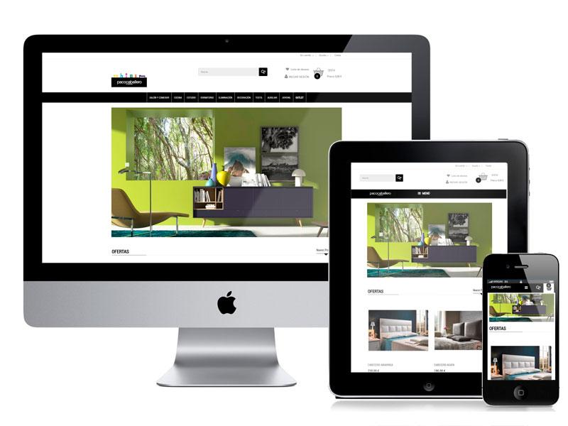 Diseño y desarrollo de la tienda online Muebles Paco Caballero