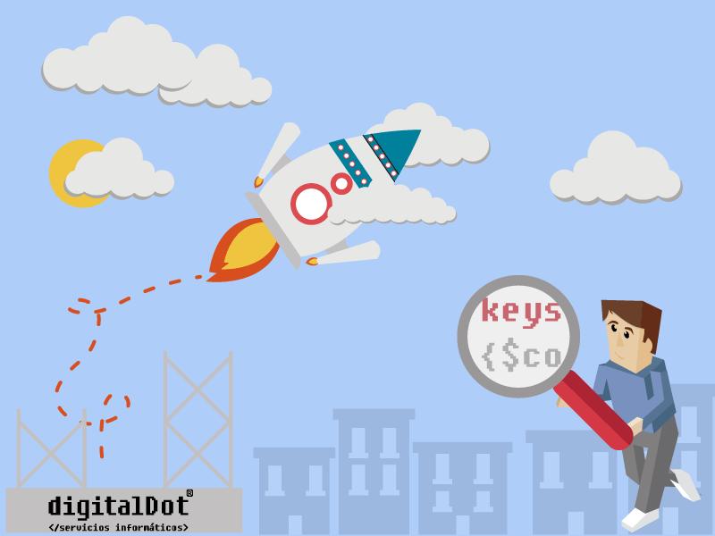 Términos de marketing online. digitalDot
