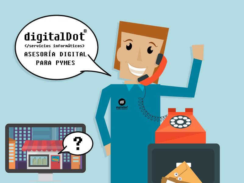 Asesores Digitales en Murcia. digitalDot