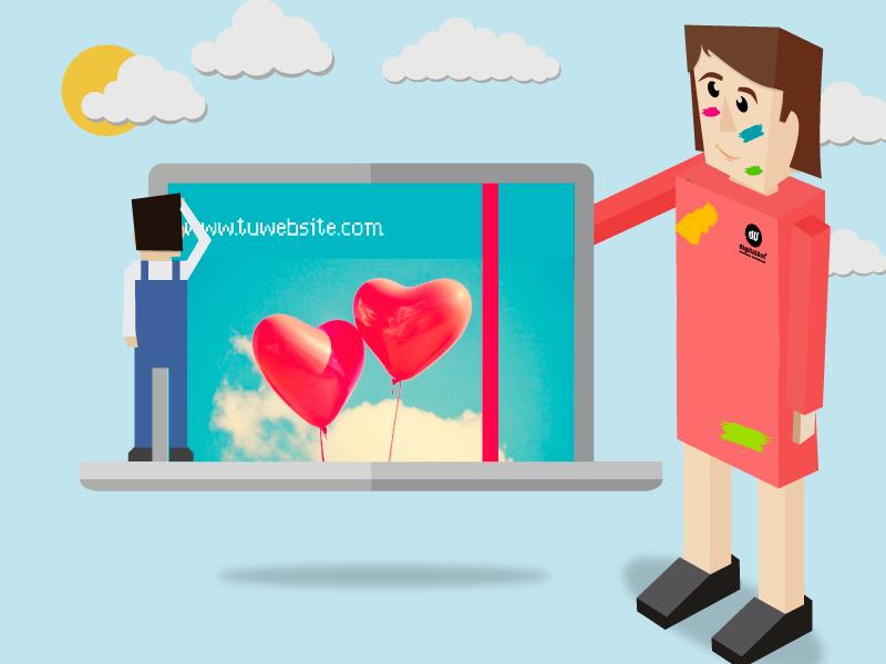 Diseño de páginas web. digitalDot