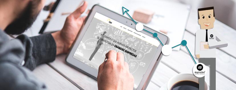Diseño web empresa Aurorial por digitalDot