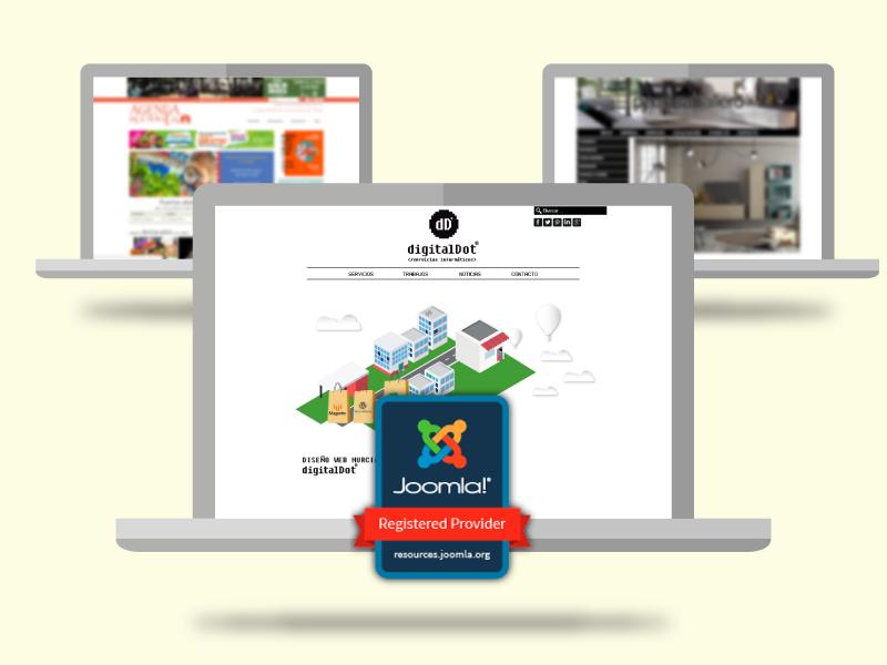 digitalDot empresa oficial Joomla