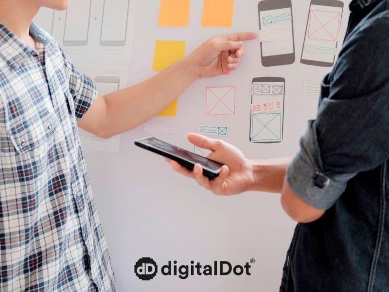 Diseño web adaptable. digitalDot
