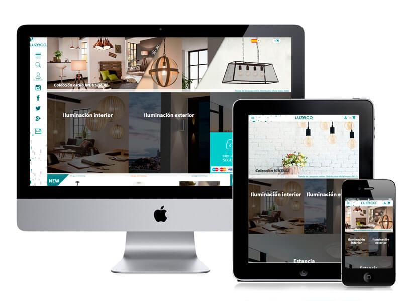 Diseño web tienda online. digitalDot