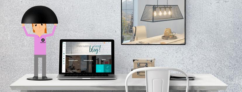 Diseño tienda online Luzeco. digitalDot