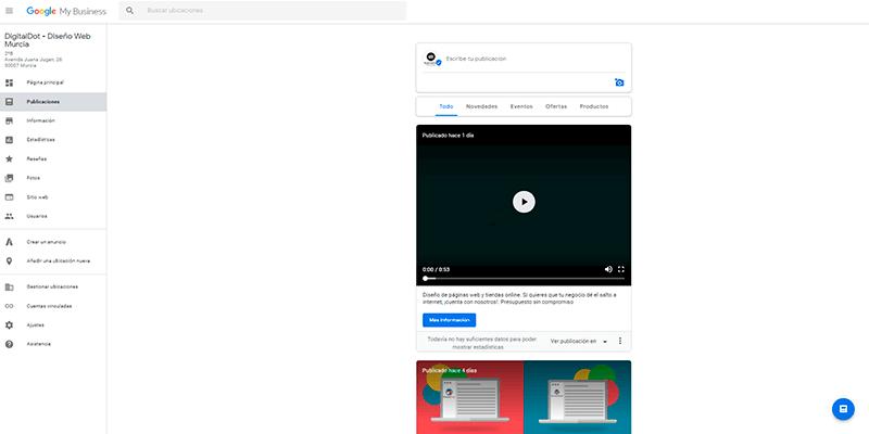 Aprende a utilizar tu ficha de Google My Business para empresas