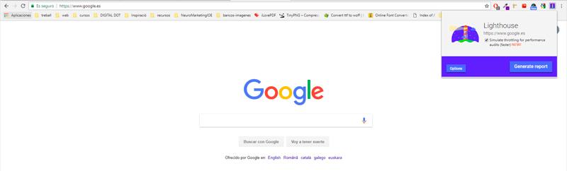 Mejora el SEo de tu ecommerce con Lighthouse de Google
