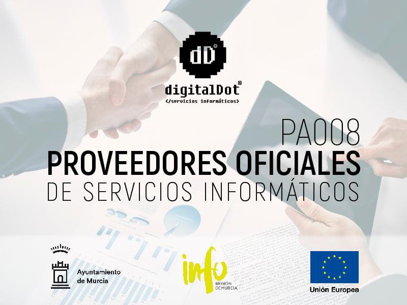 Proveedores servicios informáticos. digitalDot