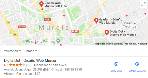 reseñas mapa google