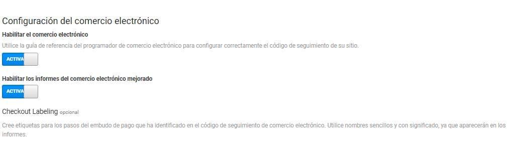 Comercio electrónico Google