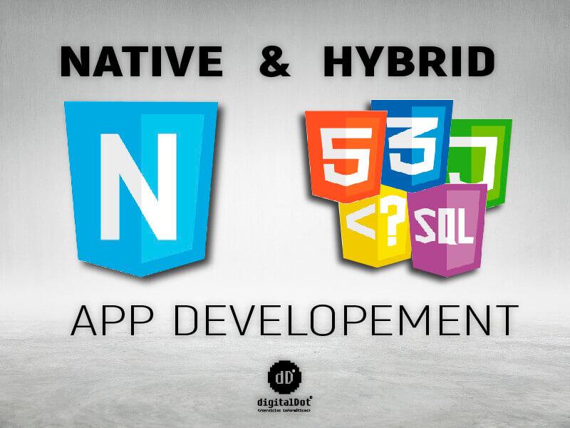 Aplicaciones móviles nativas e híbridas. digitalDot