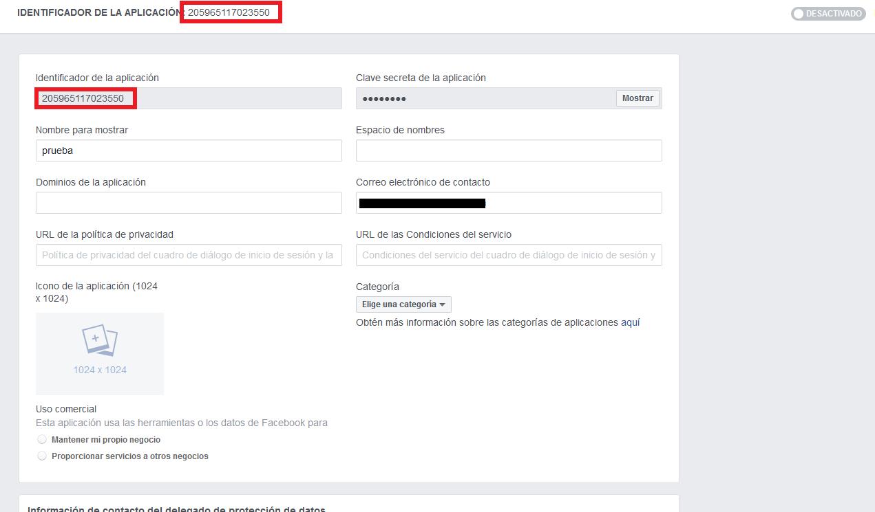 app id facebook developers. digitalDot