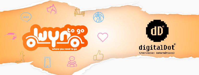 Diseño app Wyntogo por digitalDot