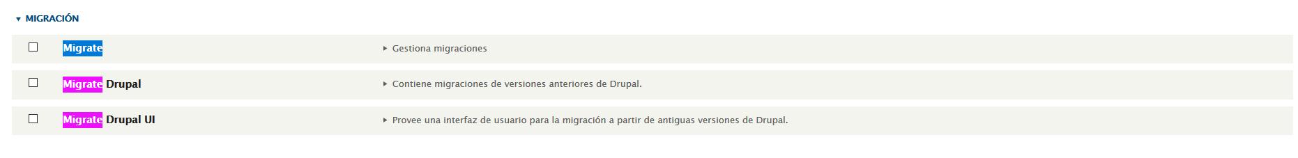 Migración drupal 7. digitalDot