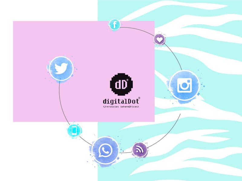 Tendencias ecommerce y redes sociales. digitalDot