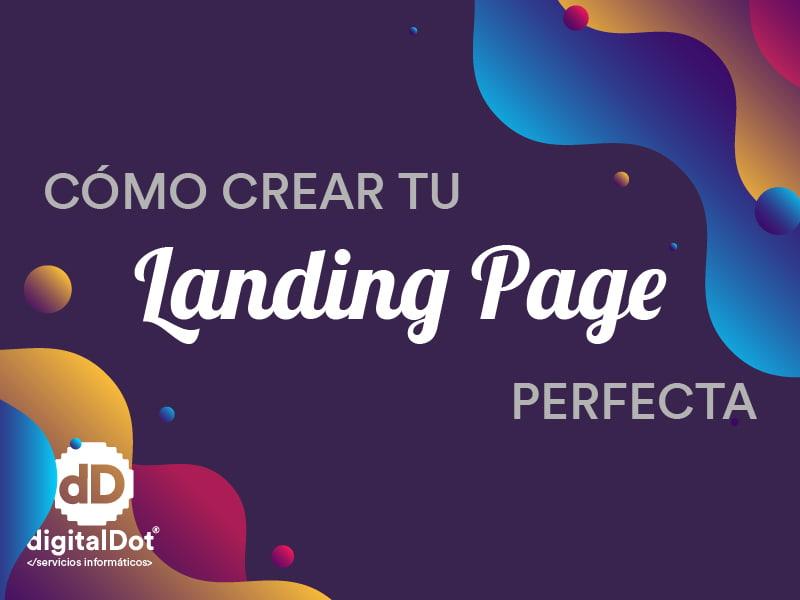Crear landing con WordPress. digitalDot