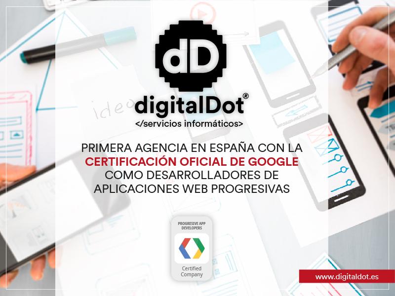 digitalDot primera Agencia PWA en España