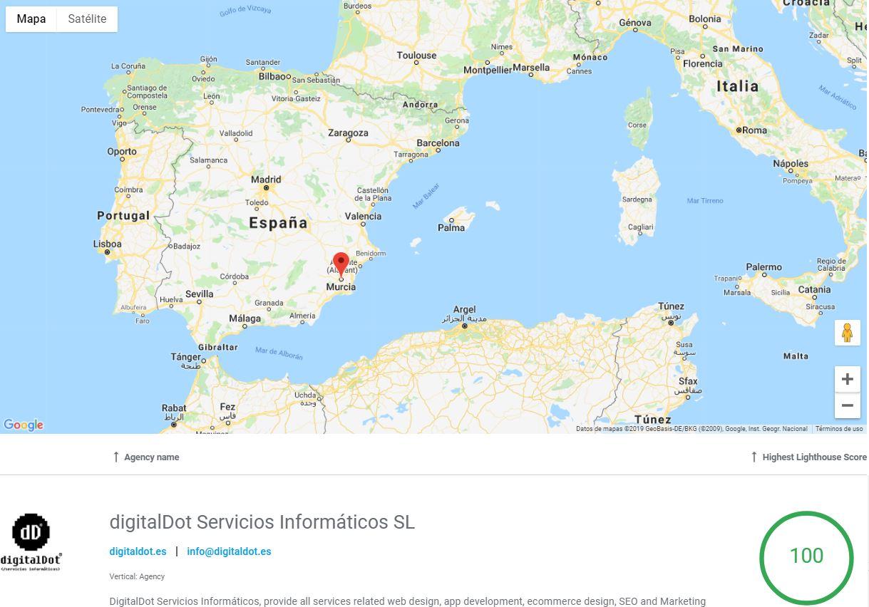 Agencias desarrollo PWA España. digitalDot