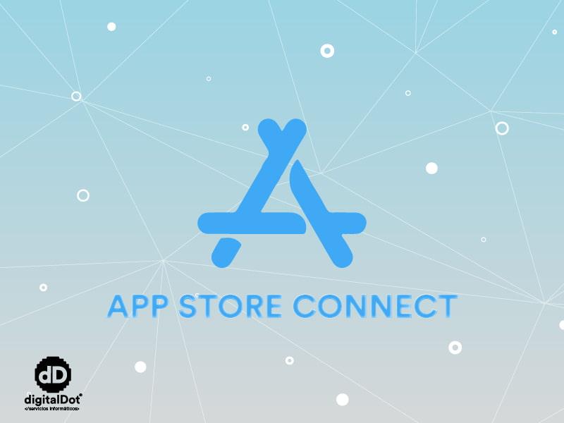 APP Store Connect iOS. digitalDot