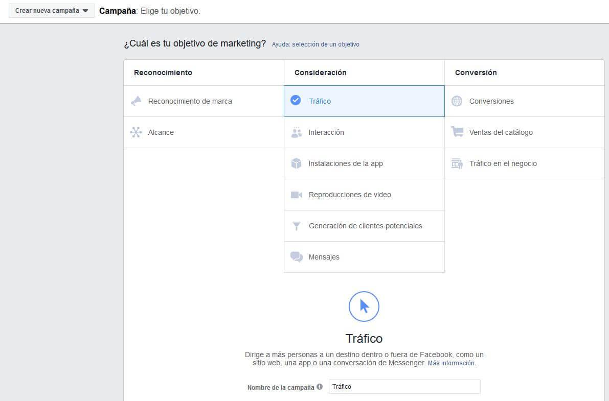 Campaña publicidad Facebook. digitalDot