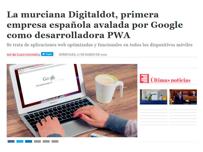 digitalDot en Murcia Economía