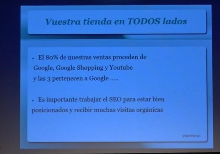 Visibilidad tienda online. Congreso eCommerce Almería
