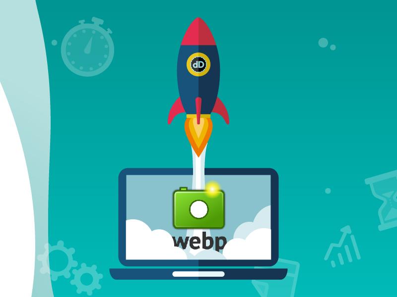 Velocidad web con imágenes webp