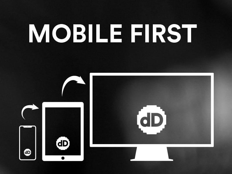 Mobile first. Diseño web en digitalDot