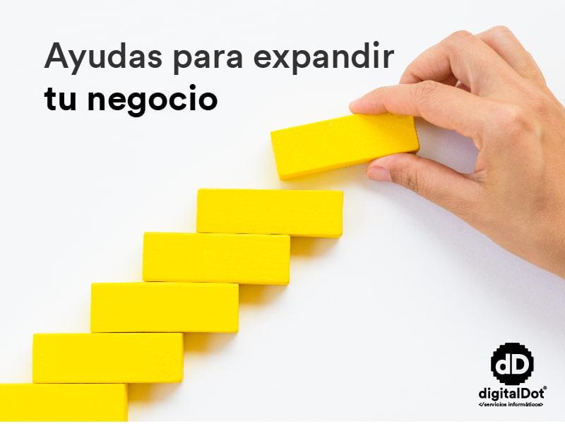 Ayudas Xpande Digital Marketing. digitalDot