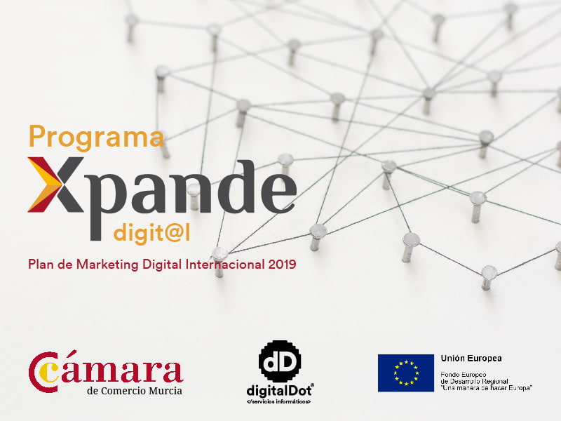 Ayudas Xpande digital 2019. digitalDot