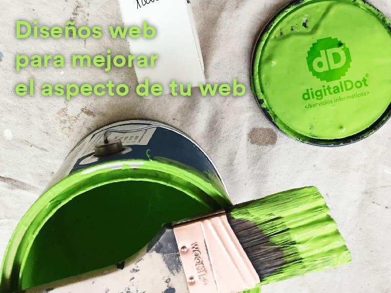 Mejora el diseño de tu web. digitalDot