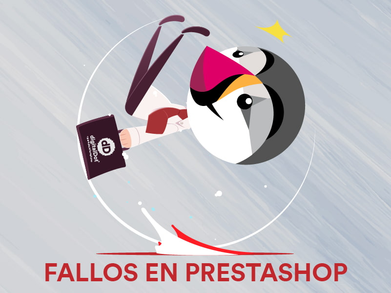 Errores en Prestashop. digitalDot