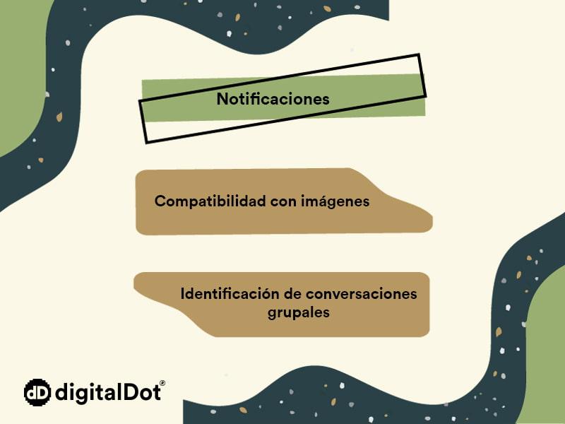 Ventajas App API 28. digitalDot