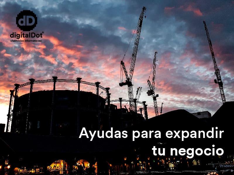 Ayudas empresas Murcia Xpande. digitalDot