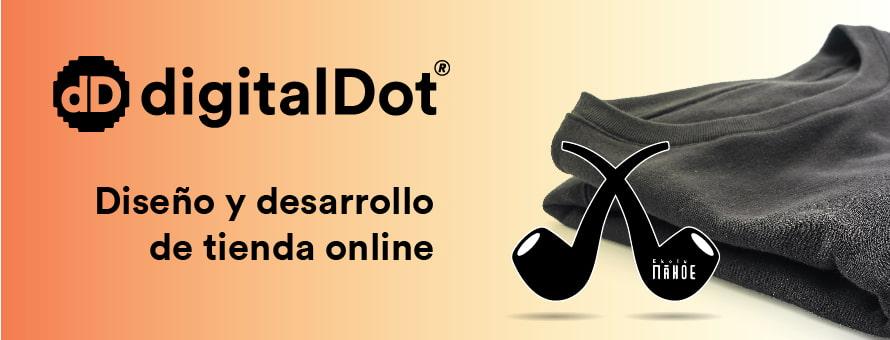 Diseño tienda online Ekolumahoe por digitalDot