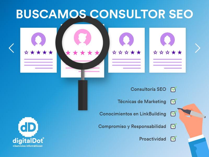 Oferta de empleo – Consultor SEO