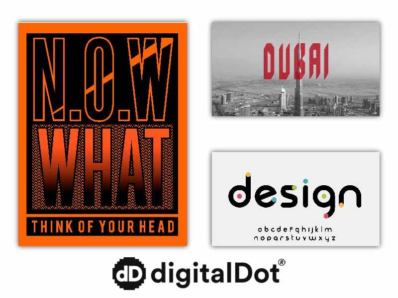 Tipografía minimalista. Tendencias web